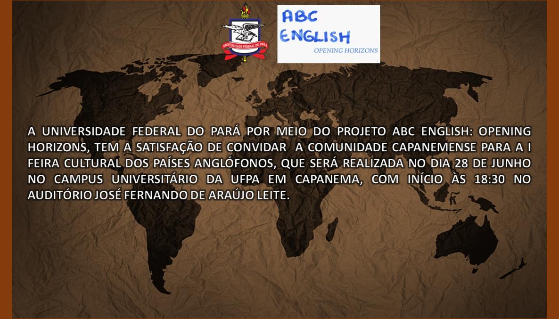 1ª Feira Cultural dos Países Anglófonos