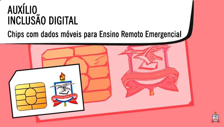 UFPA divulga orientações para estudantes receberem chips com dados móveis para uso no Ensino Remoto Emergencial
