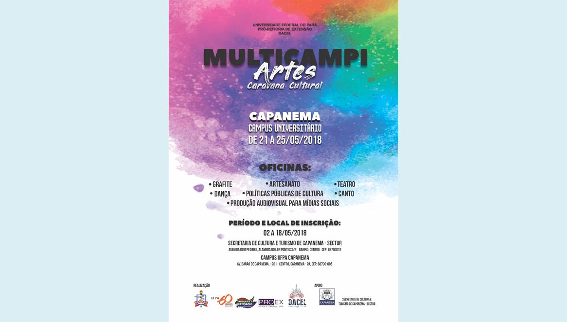 Multicampi Artes Caravana Cultural