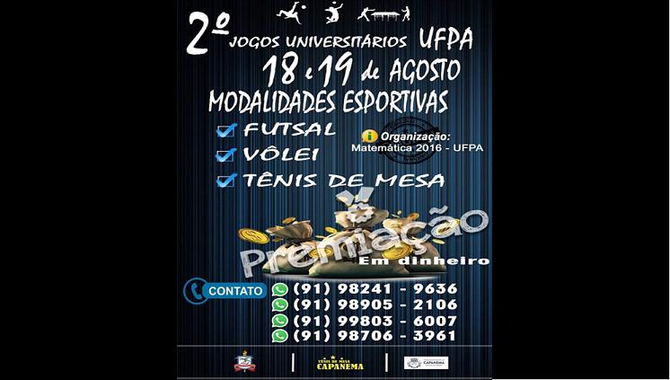 2º Jogos Universitários UFPA Capanema